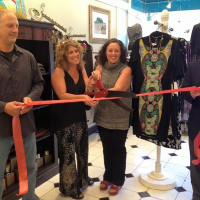 Wilmette Kenilworth Chamber ribbon cutting