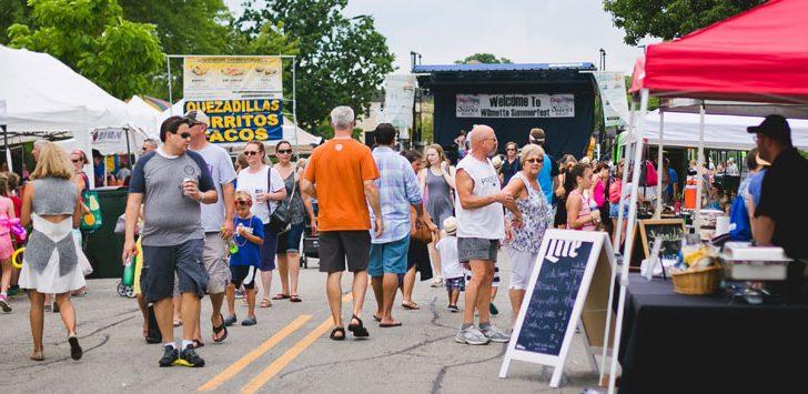 Wilmette Summerfest & Sidewalk Sale
