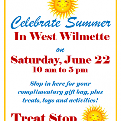 Celebrate Summer in West Wilmette on Saturday, June 22