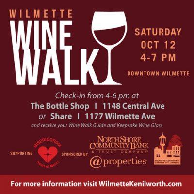 Wilmette Wine Walk October 12, 2019