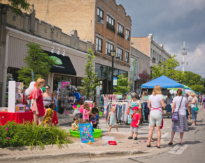 Wilmette Sidewalk Sale July 18 & 20, 2019