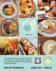 Wilmette Restaurant Month