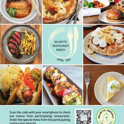 April is Wilmette Restaurant Month!