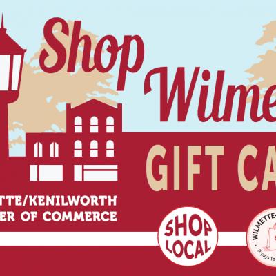 Shop Wilmette Card, a village-wide gift card